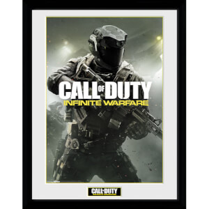 Call Of Duty Infinite Warfare New Key Art Framed Photographic - 16