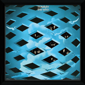 The Who Tommy Framed Album Cover - 12