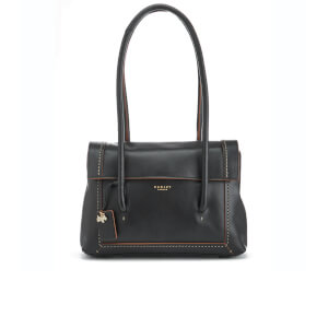Radley Women's Boundaries Medium Flapover Tote Bag - Black