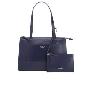 Radley Women's Hardwick Medium Ziptop Tote Bag - Navy
