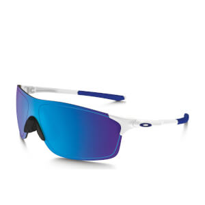 Oakley EV Zero Pitch Sunglasses - Polished White/Sapphire Iridium