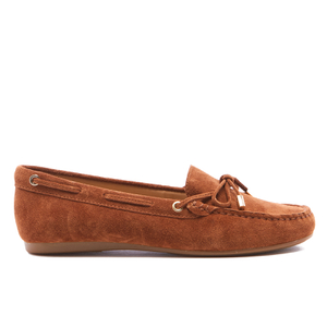 MICHAEL MICHAEL KORS Women's Sutton Suede Moccassins - Luggage