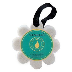 Spongellé Wild Flower Body Wash Infused Buffer - Ginger Bergamot