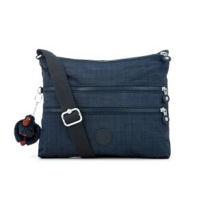Kipling Women's Alvar Medium Shoulder Bag - Dazzling True Blue