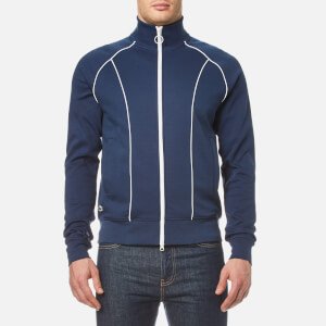 Lacoste L!ve Men's Tracksuit Zip Jacket - Ship/White