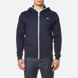 Lacoste L!ve Men's Full Zip Hoody - Navy