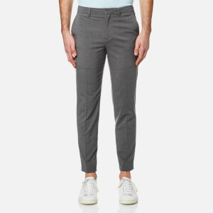 Lacoste L!ve Men's Flannel Chino Pants - Light Grey Jaspe