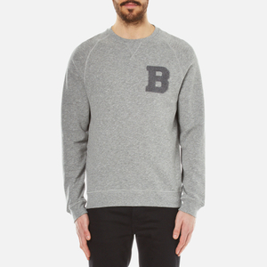 Barbour Men's B Crew Neck Sweater - Grey