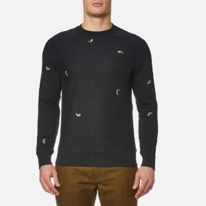 PS by Paul Smith Men's Melon Long Sleeve Sweatshirt - Black