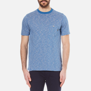 PS by Paul Smith Men's Striped Crew Neck T-Shirt - Indigo