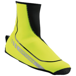 Northwave Sonic High Shoe Covers - Yellow
