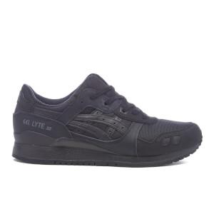 Asics Gel-Lyte III Trainers - Black/Black