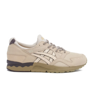 Asics Men's Gel-Lyte V Trainers - Off-White/Off-White