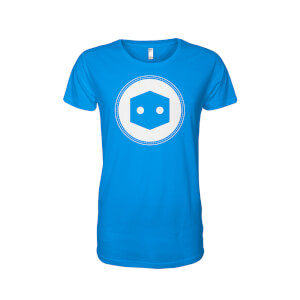 Pop In A Box Limited Edition Large Logo T-Shirt - Blue