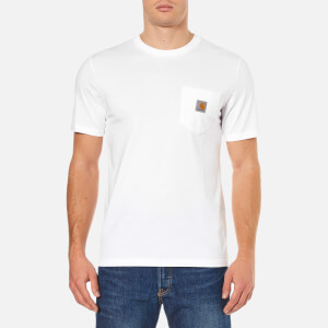 Carhartt Men's Short Sleeve Pocket T-Shirt - White