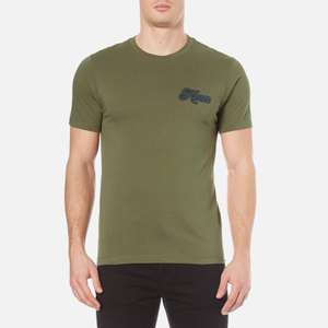 KENZO Men's Small Logo T-Shirt - Dark Khaki