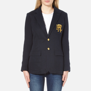 Polo Ralph Lauren Women's 2 Button Blazer - Aviator Navy