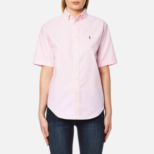 Polo Ralph Lauren Women's Short Sleeve Shirt - Deco Pink