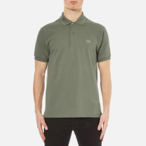 Lacoste Men's Short Sleeve Pique Polo Shirt - Army