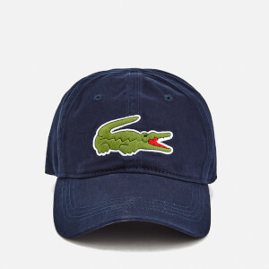 Lacoste Men's Large Croc Logo Baseball Cap - Navy
