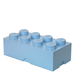 LEGO Storage Brick 8 - Light Royal Blue