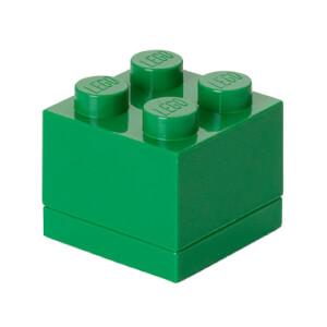 LEGO mini-opslagsteen met vier noppen - Groen