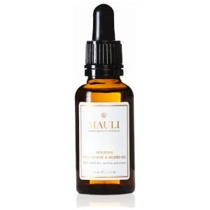 Mauli Nourish Post-Shave and Beard Oil 30ml
