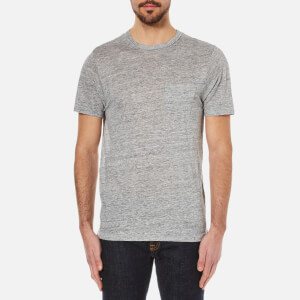 rag & bone Men's Owen Crew Neck T-Shirt - Light Heather Grey