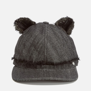 Karl Lagerfeld Women's Cat Ears Cap - Black