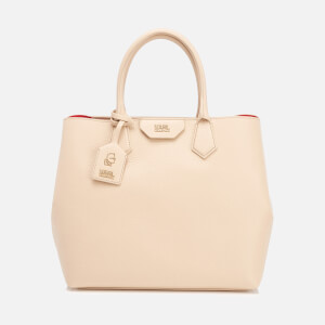 Karl Lagerfeld Women's K/Grainy Shopper Bag - Biscuit