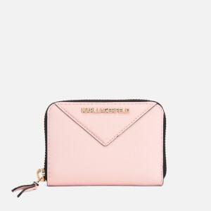 Karl Lagerfeld Women's K/Klassik Small Zip Wallet - Quartz