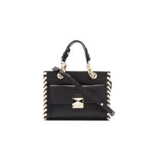 Karl Lagerfeld Women's K/Whipstitch Mini Tote Bag - Black