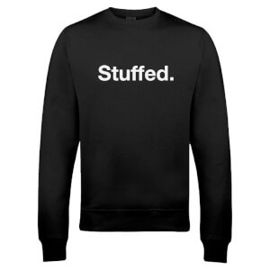 Stuffed Christmas Sweatshirt - Schwarz
