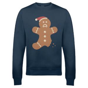 Sweatshirt de Noël Tibiscuit -Marine