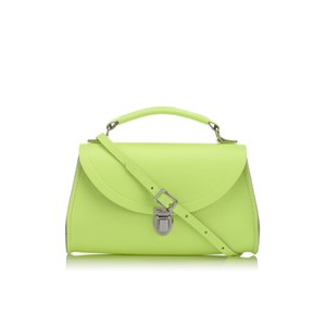 The Cambridge Satchel Company Women's Mini Poppy Bag - Neon Yellow