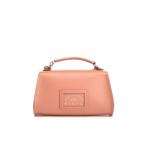 The Cambridge Satchel Company Women's Exclusive Mini Poppy Bag with Stamp - Terracotta Grain: Image 5
