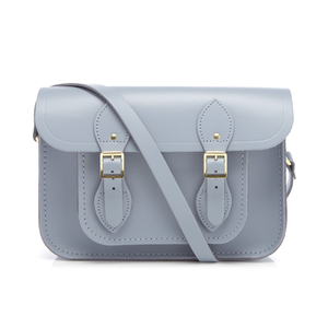 The Cambridge Satchel Company Women's 11 Inch Satchel with Magnetic Closure - French Grey
