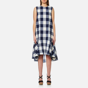 Paisie Women's Check Trapeze Dress - Multi
