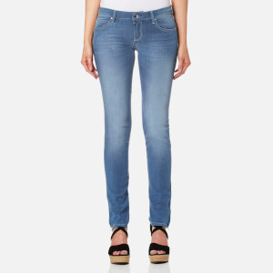 Guess Women's Marilyn 3 Zip Jeans - Sugar Candy