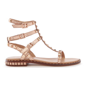 Ash Women's Poison Studded T Bar Sandals - Rame