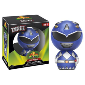Figurine Dorbz Power Rangers Bleu - Mighty Morphin'