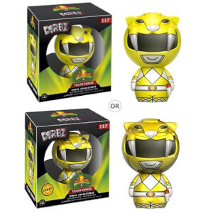 Figurine Dorbz Power Rangers Jaune Mighty Morphin' Door ou Variante Chase