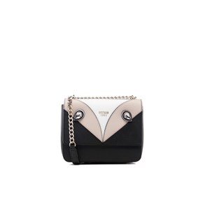 Guess Women's Kizzy Cross Body Flap Bag - Black