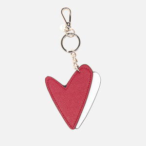 Guess Women's Pinup Pop Heart Keychain - White