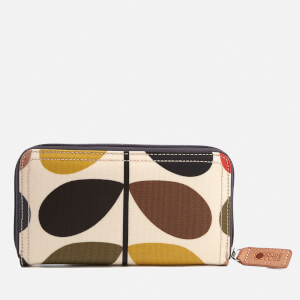 Orla Kiely Women's Stem Big Zip Wallet - Multi