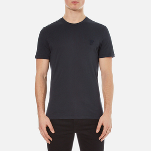 Versace Collection Men's Small Medusa T-Shirt - Blu Notte