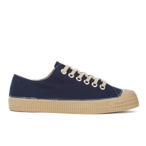 Novesta Men's Star Master Pure Trainers - Navy/Beige