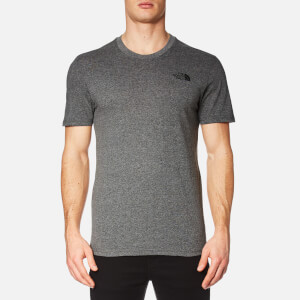 The North Face Men's Simple Dome Short Sleeve T-Shirt - Medium Grey Heather