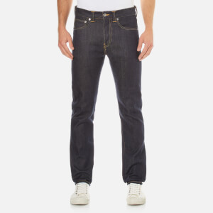 Edwin Men's Ed-80 Slim Tapered Rainbow Selvedge Jeans - Unwashed