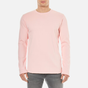 Edwin Men's Terry Long Sleeve Top - Pink
